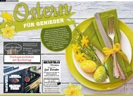 Ostern für Genießer
