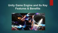 What is Unity and its features, benefits?