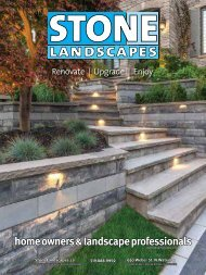 Stone Landscapes 2019 Product Guide