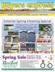 Buyers Express - La Crosse Edition - April 2019
