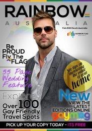 RAINBOW FLAG - SOUTH AUSTRALIA FEBRUARY 2019