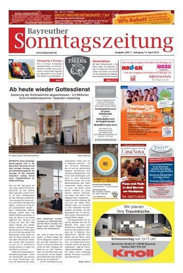 2019-04-14 Bayreuther Sonntagszeitung