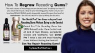 Regrow Gums Naturally