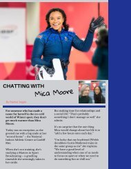 Chatting with Mica Moore