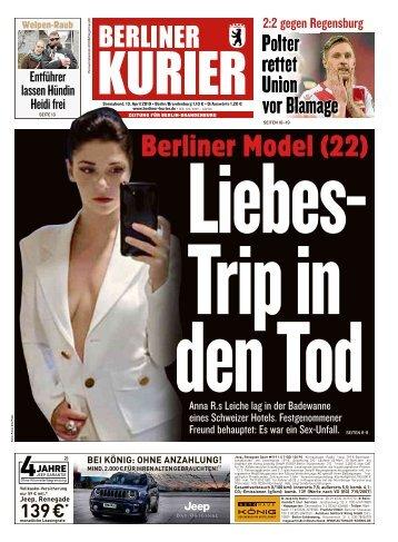 Berliner Kurier 13.04.2019