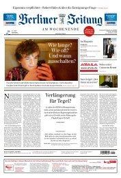Berliner Zeitung 13.04.2019