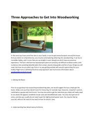 5 woodworking projects to sell