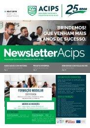 ACIPS NEWSLETTER // Abril 2019 - Edição 1 - Nº6