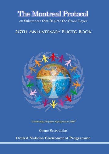 20th Anniversary Photo Book - Ozone Secretariat - UNEP