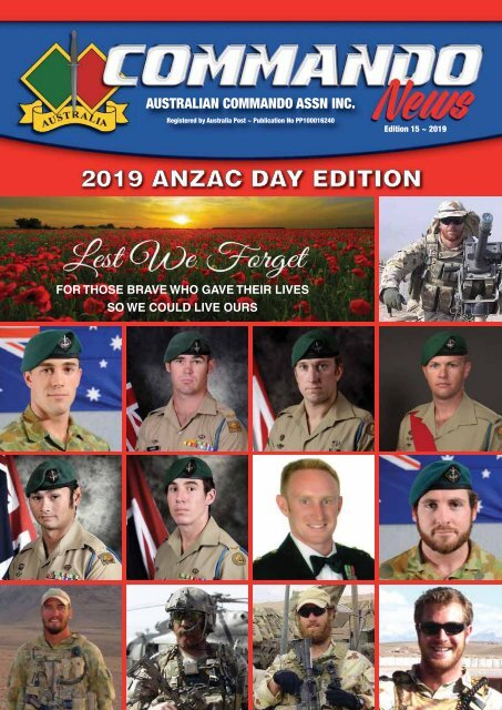 Commando News issue 15 2019