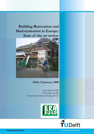 Building Renovation and Mod-ernisation in Europe: State of the art ...