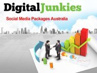 Social Media Experts Australia - Digital Junkies