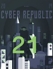 Cyber Republic Weekly Update 21