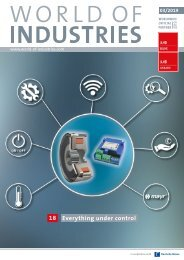 WORLD OF INDUSTRIES 03/2019