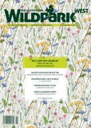 Waldsiedlung Wildpark-West, Ausgabe #2 Frühling/Sommer 2019