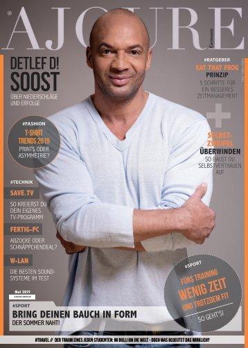 AJOURE´ Men Magazin Mai 2019