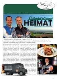 Mayer Erligheim   Catering & Eventgastronomie Firmenzeitung 2019