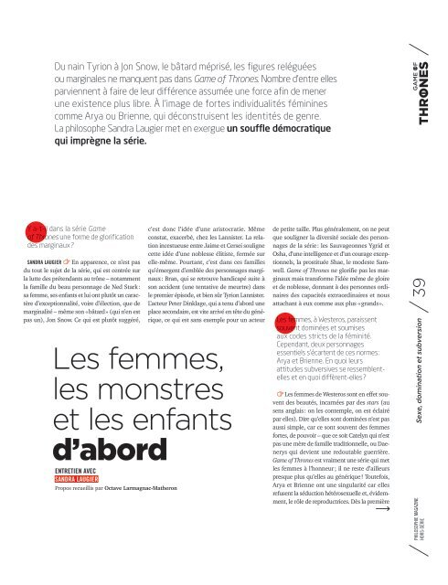 Philosophie magazine-Hors-série avril 2019