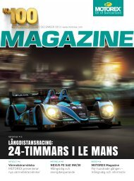 MOTOREX Magazine 2013 100 SE