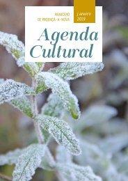 Agenda Cultural de Proença-a-Nova - Janeiro de 2019