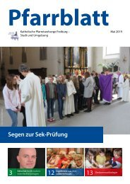 2019-05 Pfarrblatt Freiburg