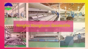 Woven Geotextile Fabric Manufacturer