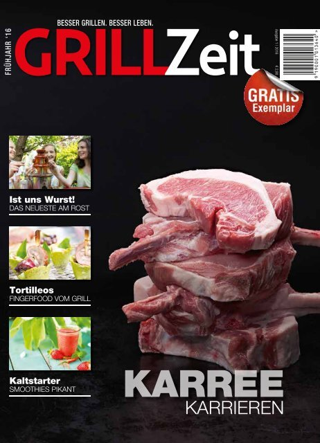 GRILLZEIT 2016 1 - Grillen, BBQ & Outdoor-Lifestyle
