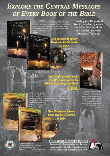 Christian Liberty Books Promo - April 2019