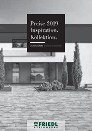 Friedl Preisliste 2019