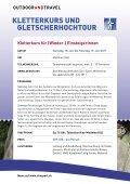 KLETTERKURS UND GLETSCHERHOCHTOUR - Seite 2