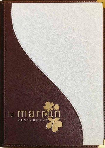 leMarron-Restaurant-Speisenkarte-A-la-Carte-04-2019-DE