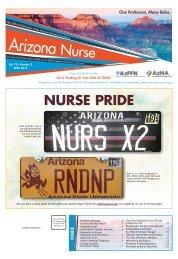 Arizona Nurse  - April 2019