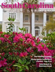 South Carolina Agent & Broker Spring 2019