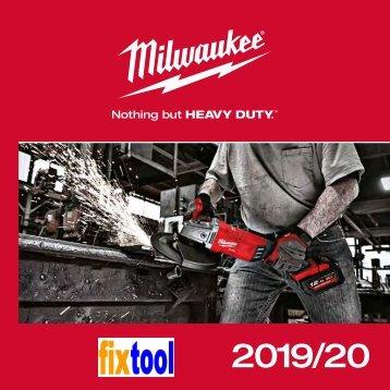 Programmübersicht Milwaukee 2019 DE