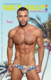 Get Out! GAY Magazine – Issue 414 April 17, 2019