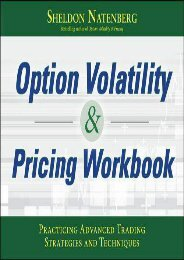 [+]The best book of the month Option Volatility   Pricing Workbook: Practicing Advanced Trading Strategies and Techniques  [FULL]