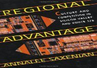 [+][PDF] TOP TREND Regional Advantage: Culture and Competition in Silicon Valley and Route 128  [FULL]