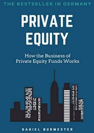 [+]The best book of the month Private Equity: How the Business of Private Equity Funds Works  [NEWS]