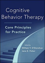 [+][PDF] TOP TREND Cognitive Behavior Therapy: Core Principles for Practice  [NEWS]