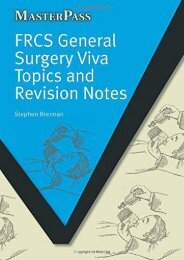 [+]The best book of the month FRCS General Surgery Viva Topics and Revision Notes (MasterPass)  [FREE]