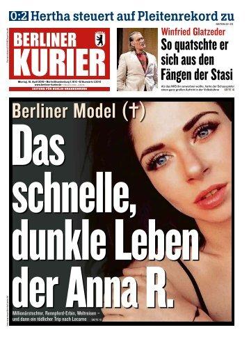 Berliner Kurier 15.04.2019