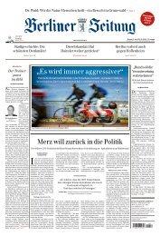 Berliner Zeitung 15.04.2019