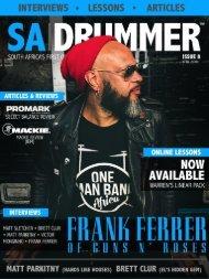 SA Drummer Magazine - Issue 8