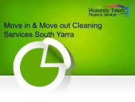 Professional House Move in & Move Out Cleaning Services in South Yarra