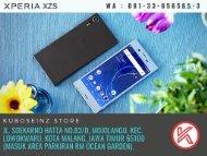 SONY XPERIA HARGA CUCI GUDANG, Telp/WA 081-33-656565-3