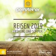 Neuer Reisekatalog - Frühling und Sommer Reisen 2019