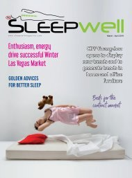 SleepWell Magazine March April 2019