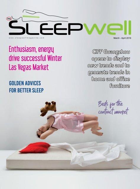 SleepWell Magazine March April 2019