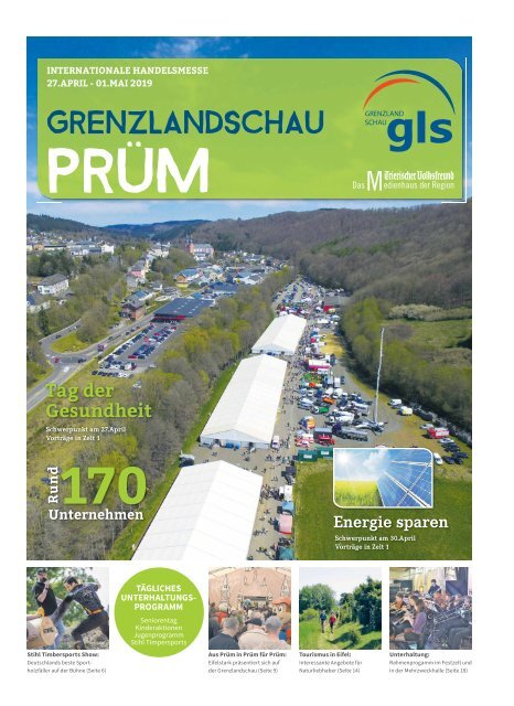 Grenzlandschau Prüm - Int. Handelsmesse 27. April - 01. Mai