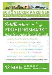 Schönecker Anzeiger April 2019